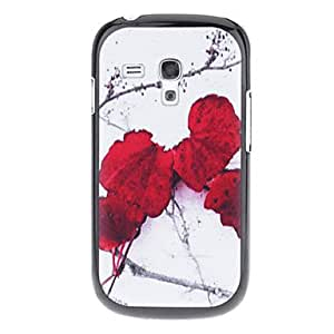 Red Petals Pattern Hard Back Case Cover for Samsung Galaxy S3 Mini I8190