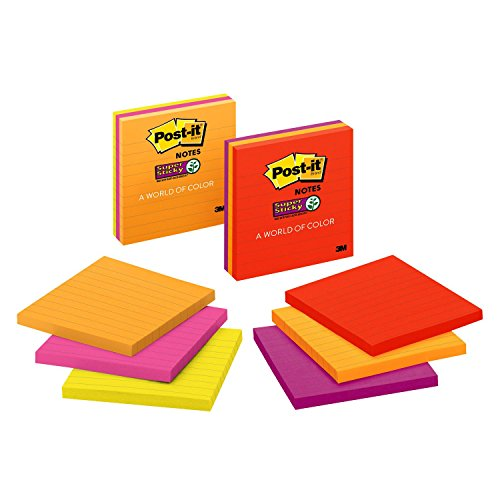 Post Sticky Assorted Bright Colors product image
