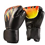 Quanii Boxing Gloves Punching Gloves Punch Bag Fight Sparring Training Unisex Adult Grappling Fighting Punch Bag Training Glove Pads