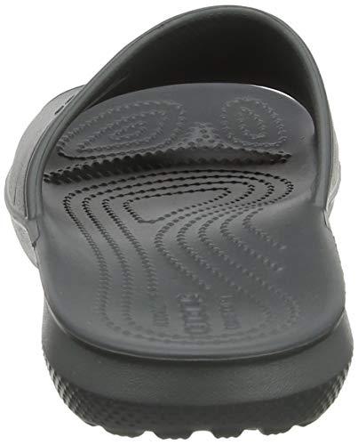 Slide Slate Adulte Crocs Mixte Classic Grey Gris Mules xnBB6ZpY