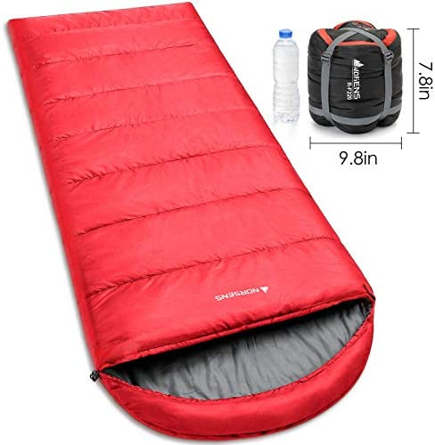 NORSENS Camping Sleeping Bags – Lightweight Compact Sleeping Bag for Adults, Kids – 3 Season Warm Cold Weather Sleeping Bags for Hiking,Backpacking