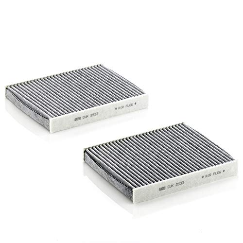 Mann Filter CUK 2533-2 Carbon Activated Cabin Filter