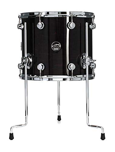 DW Performance Series Floor Tom - 12 Inches X 14 Inches Ebony Stain Lacquer by DW