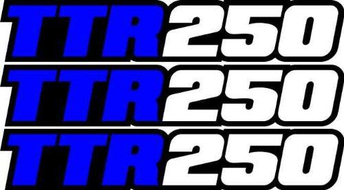 Yamaha Swing (Yamaha Ttr250 Swingarm Airbox Decals Sticker TTR 250 Dirtbike Racing Mx Graphics Atv)