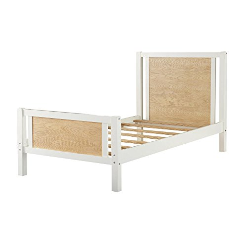 Dorel Living Blaine Twin Bed, Two-Toned