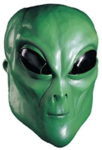 Green Alien Costumes For Adults (Rubie's Costume Co Alien Overhead Mask, Green, One Size)