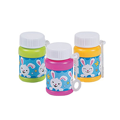 Mini Easter Bunny Bubble Bottles