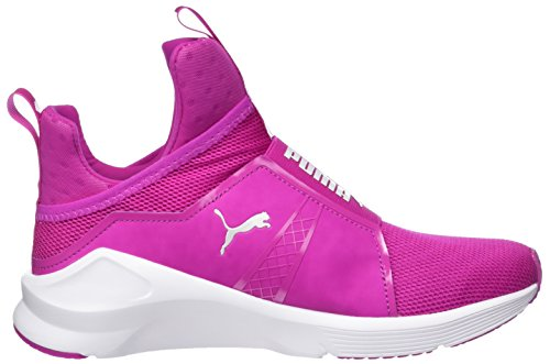Magenta Puma 10 Ultra White Donna Fierce Sportive Indoor Core Scarpe Rosa puma 86q8p