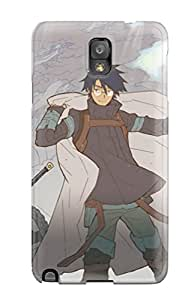 New Style Premium Durable Log Horizon Fashion Tpu Galaxy Note 3 Protective Case Cover