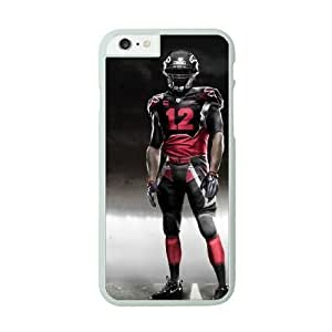 Case Cover For SamSung Galaxy Note 4 White Cell Phone Case Atlanta Falcons NFL Hard Clear Phone Cases NLYSJHA1862
