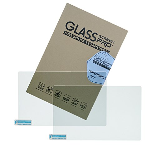 Naviurway 2Pcs Tempered Glass Screen Protector Special for Hyundai Santa Fe Tucson Azera Elantra Sonata 2017 8 inch Radio Navigation Infotainment - Tucson Glasses