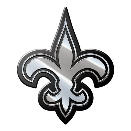 (NFL New Orleans Saints Premium Metal Auto Emblem)