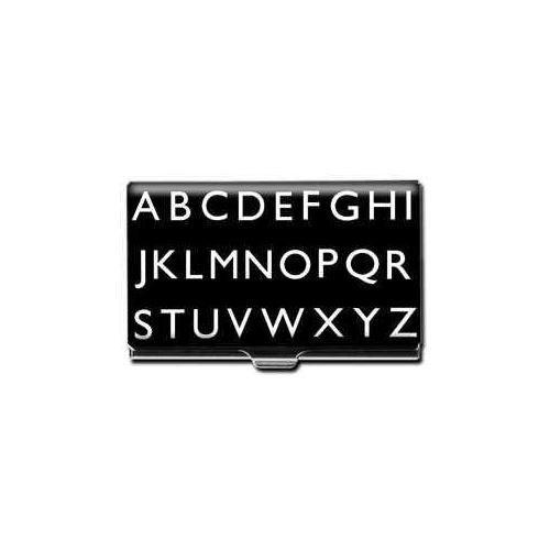 ACME Studios Standard Card Case Alphabet (CRD01BC) by Acme Studios
