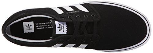 M nero Skate Performance Black 4 White bianco cenere grigia Seeley Gum Us scarpe Adidas xzFwfn0x
