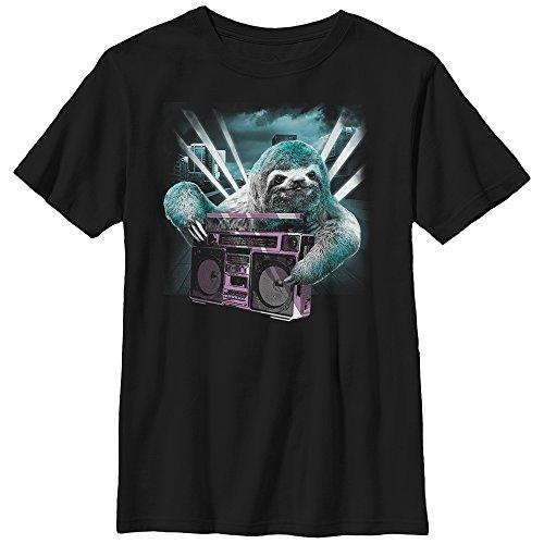 fifth-sun-boys-little-boys-sloth-boombox-graphic-t-shirt-shirt-black-small-5-6