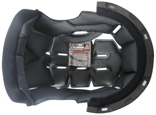 LS2 Helmets Liner for FF386 Helmets (Black, Medium) by LS2 Helmets