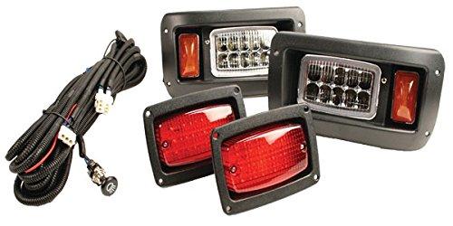 GTW Adjustable LED Light Kit for Club Car DS 1993-Up Golf Cart