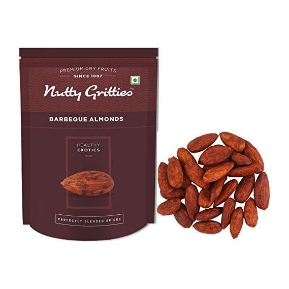 Nutty Gritties Barbeque Almonds, 200g