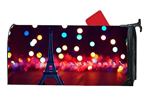 ed Mailbox Covers Eiffel Tower Cute Mailbox Makeover Yard,Garden,Outdoor Magnetic ()