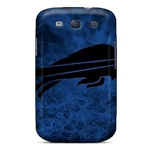 PhilHolmes Samsung Galaxy S3 Shockproof Hard Cell-phone Cases Custom High Resolution Buffalo Bills Pattern [RCe8940rksA]