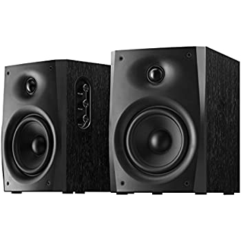 This Page Contains All Information About Micca PB42X Powered Bookshelf Speakers With 4Inch Carbon