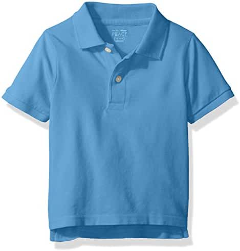 The Children's Place Baby-Boys' Li'l Guy's Short Sleeve Polo