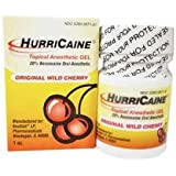 Hurricane Gel, 20%, Cherry, 1oz