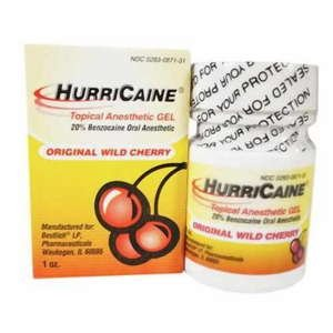 Hurricane Gel, 20%, Cerise, 1 oz