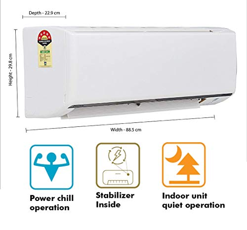 Daikin 1.5 Ton 5 Star Inverter Split AC (Copper FTKF50TV White) 3