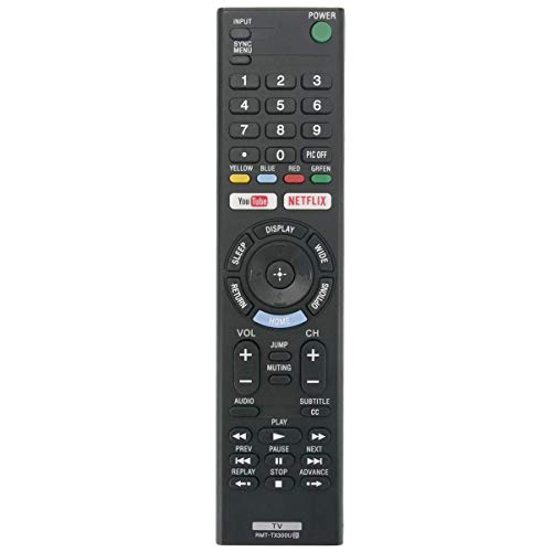 Sony LED Smart TV Remote Control RMT-TX100U/ RMT-TX300U (Remote Tv For Smart Sony Control)