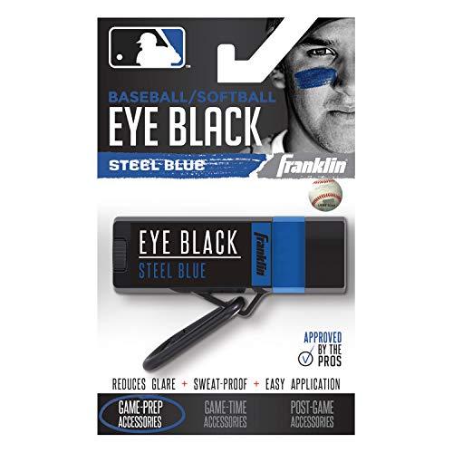 Franklin Sports MLB Premium Eye Black, Steel Blue ()