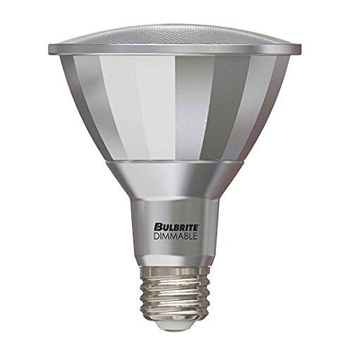 (Bulbrite LED13PAR30L/FL40/827/WD 75W Halogen Equivalent - Medium (E26) Base - Flood - 13W Dimmable Wet Rated Outdoor/Indoor LED PAR30 Long Neck Reflector Bulb, Warm White)