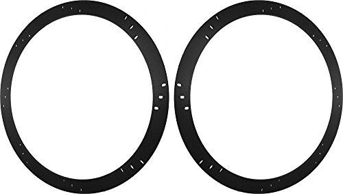 """6x9/"""" to 6.5/"""" MEDIUM 3//4/"""" Adapters One Pair MDF Speaker Spacer Rings"""
