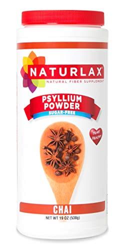 Naturlax Chai Flavored Psyllium Husk, Fiber Supplement (19 oz)