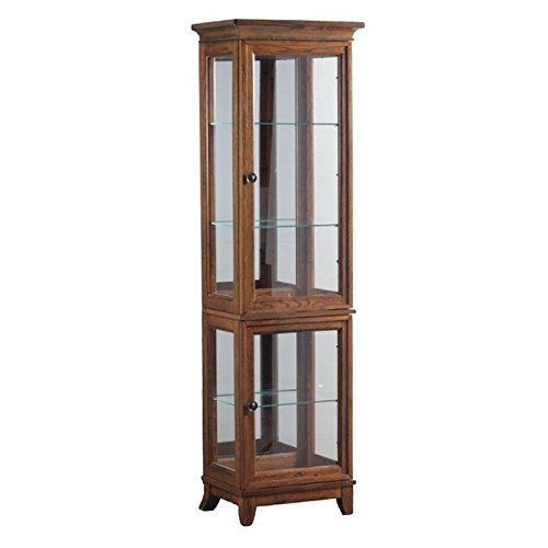 Powell Curio Cabinet - Powell Oakdale Collection 15A7036 20