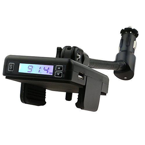 Armor All AMT3-0105-BLK Flex Mount FM Transmitter