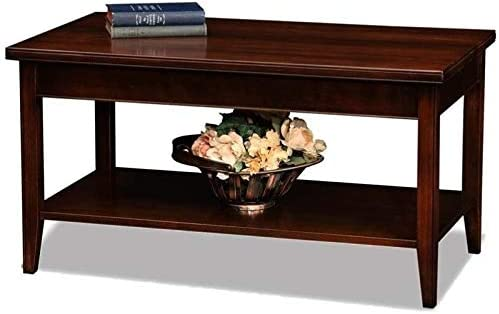 BOWERY HILL Small Solid Wood Coffee Table