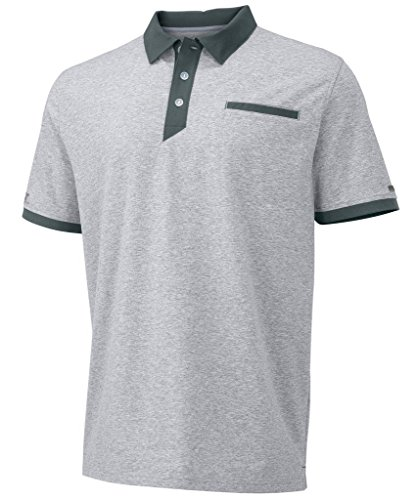 Russell Athletic Men's Elite Polo Oxford/Stealth 3XL