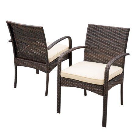 Noble House - Juego de sillas de Comedor de Mimbre, Color marrón ...