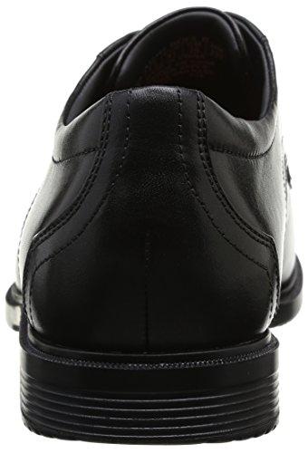 Toe ville de Rockport homme Noir Chaussures Cs Plain qwaUvE