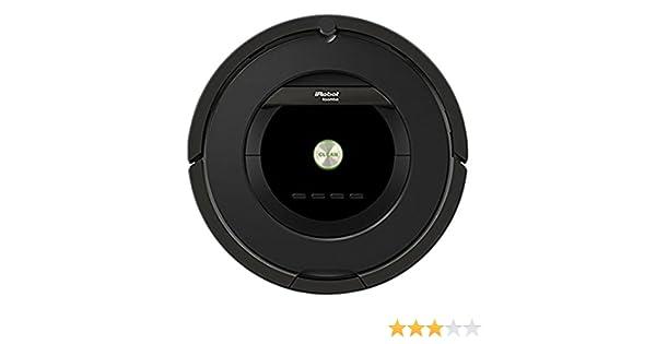 iRobot Roomba 876 aspiradora robotizada Sin bolsa Negro - Aspiradoras robotizadas (Sin bolsa, Negro, Alrededor, 58 dB, 3 h, 240 V)