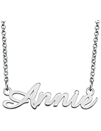 Name Necklae Personalized Customize Your Nameplate Gift for Mom Women
