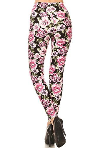 Leggings-Depot-Womens-Ultra-Soft-Popular-Best-Sweet-Valentine-Love-Heart-Printed-Fashion-Leggings