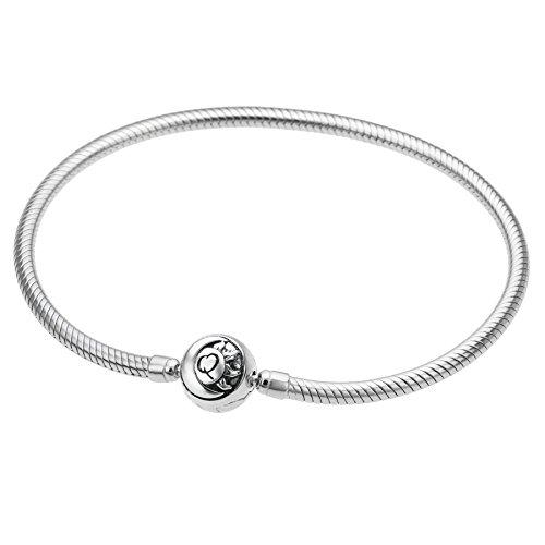 Qina Rhodium Sterling Bracelet European