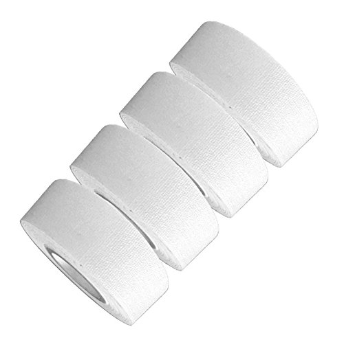 (Mini Gaffer Tape Rolls by GafferPower 1in x 8yds Made in The USA -ProGrade -Strong Tough Compact & Lightweight -Great for Gear Bag, Multi-use for The House (White))