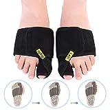 DOACT Bunion Corrector Big Toe Splint Brace Toe Straighteners Nighttime Toe Separator Bunion