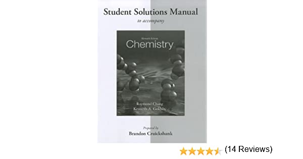 Student solutions manual for chemistry raymond chang kenneth student solutions manual for chemistry raymond chang kenneth goldsby 9780077386542 amazon books fandeluxe Choice Image