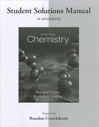 Student solutions manual for chemistry raymond chang kenneth student solutions manual for chemistry 11th edition by raymond chang fandeluxe Choice Image