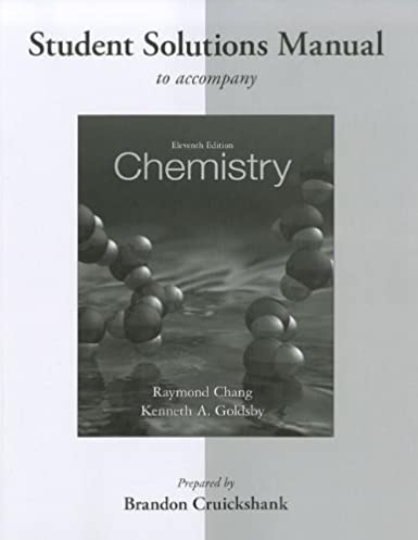 student solutions manual for chemistry raymond chang kenneth rh amazon com Silberberg Chemistry.torrent Silberberg Chemistry Homework Answers