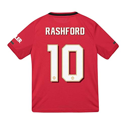 - Manchester United FC Gift Boys Rashford 10 Home Kit Shirt 11-12 Years